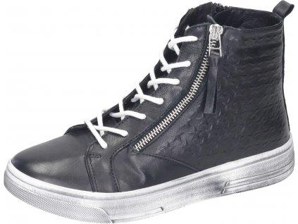 Manitu 990082 01 dámská kotníková obuv černá
