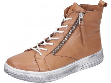 Manitu 991596 dámská kotníková obuv hnědá