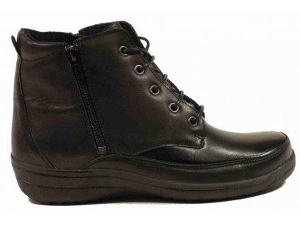 Teresa - zimní obuv 5197 na širší nohy