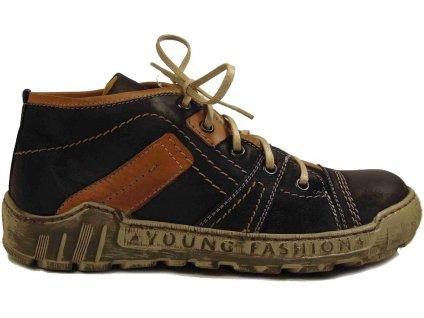 Krisbut 2044 zateplené kotníkové boty