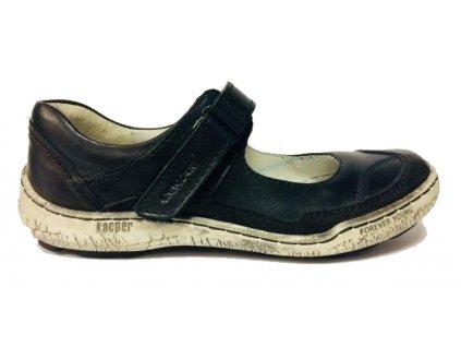 Kacper 2-3949 černé balerínky