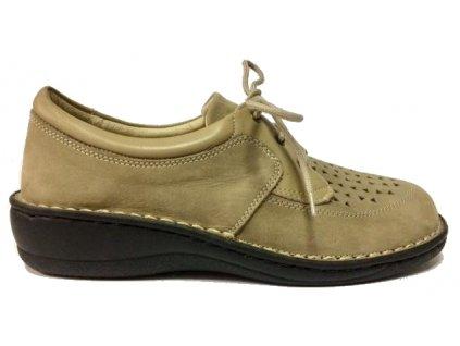 PK-Rega 8380 beige letní vycházkové zdravotní boty