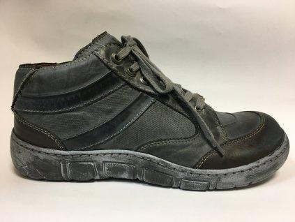 Kacper 3-2231 grey zimní boty