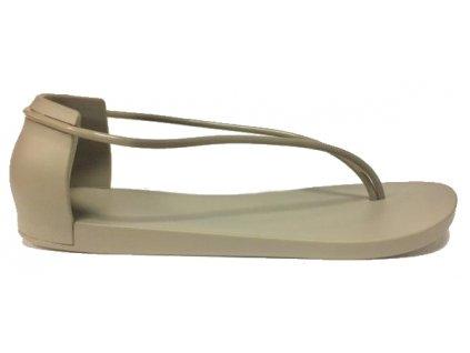 Ipanema 82047, sandálek meziprst s plnou patou, šedá Bella Bruta