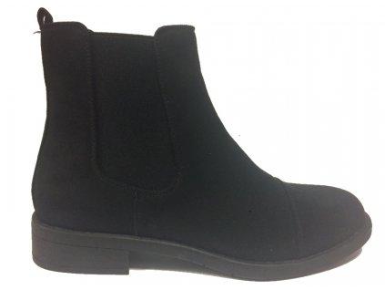 Lanson Avenue 141110 černé kotníkové boty