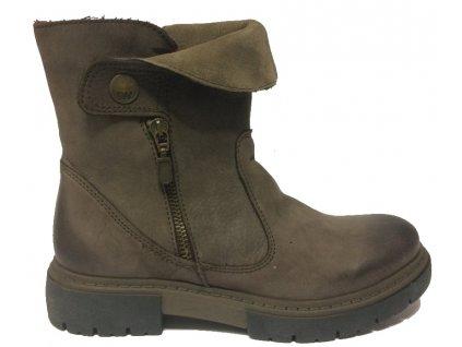 Weinbrenner 2496 zimní kožené boty