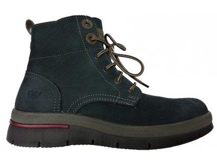 Weinbrenner 2492 kožené zimní boty