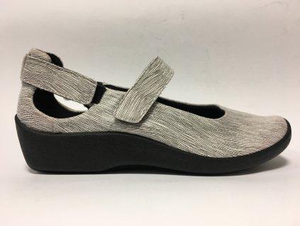 Arcopedico 4053 D11 černobílá dámská vycházková zdravotní obuv