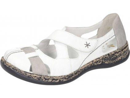 Rieker 46367-80 letní vycházkové boty