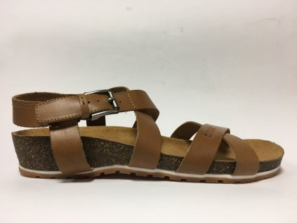 Big Star 274A010 hnědé sandále na korku