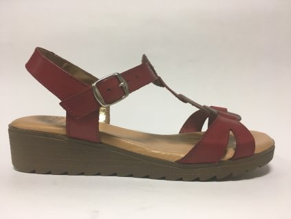 Presso 2323 červené dámské sandály traxin