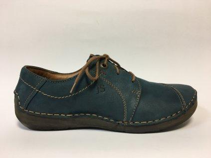 Josef Seibel Fergey 20 pohodlné modré boty na tkaničku 59692