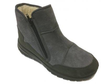 Santé MJ/4501 šedé zimní boty, nízké sněhule