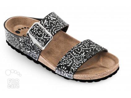 Forcare 303004, dámské korkové pantofle, klín