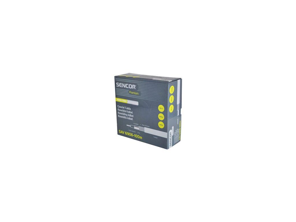 SENCOR SAV 6906-100m Koax. kabel RG-6