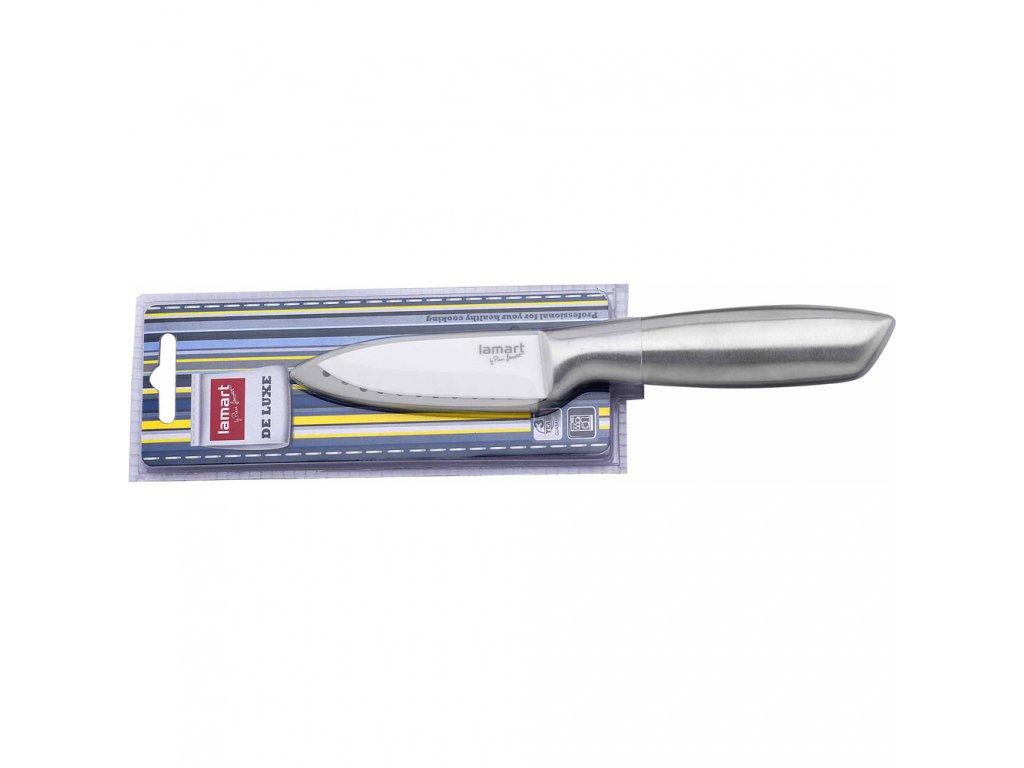 LAMART LT2001 nôž Lúpa. 7,5cm SS/keram.