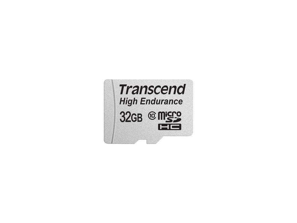Transcend microSDHC 32GB Class 10 + adaptér