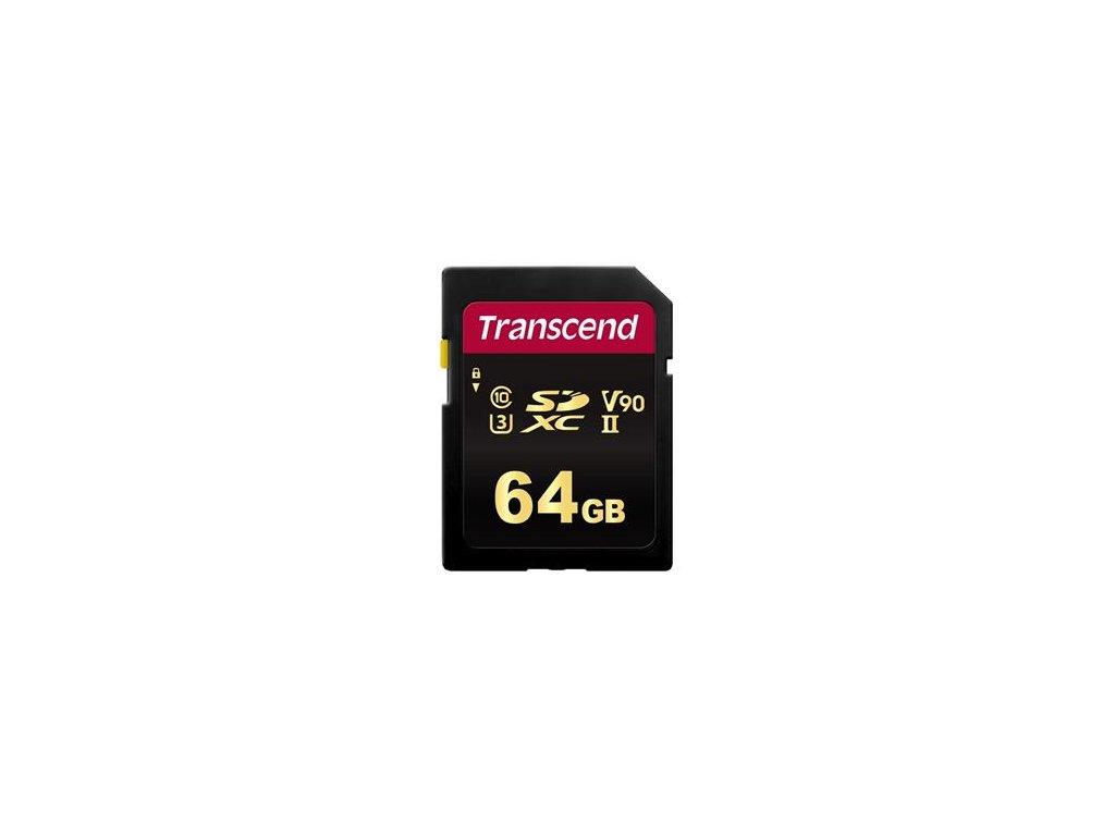 Transcend SDXC 64GB Class 10 UHS-II U3 V90