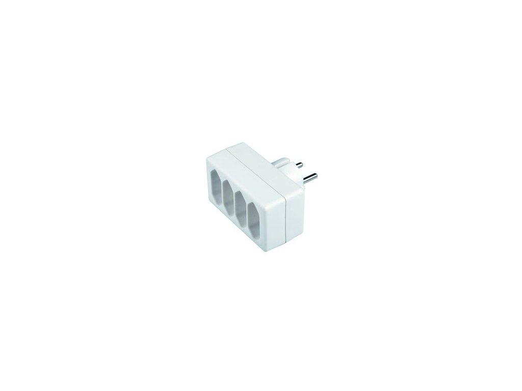 SENCOR SPC 61 rozbočka 4x2,5A/250V biela