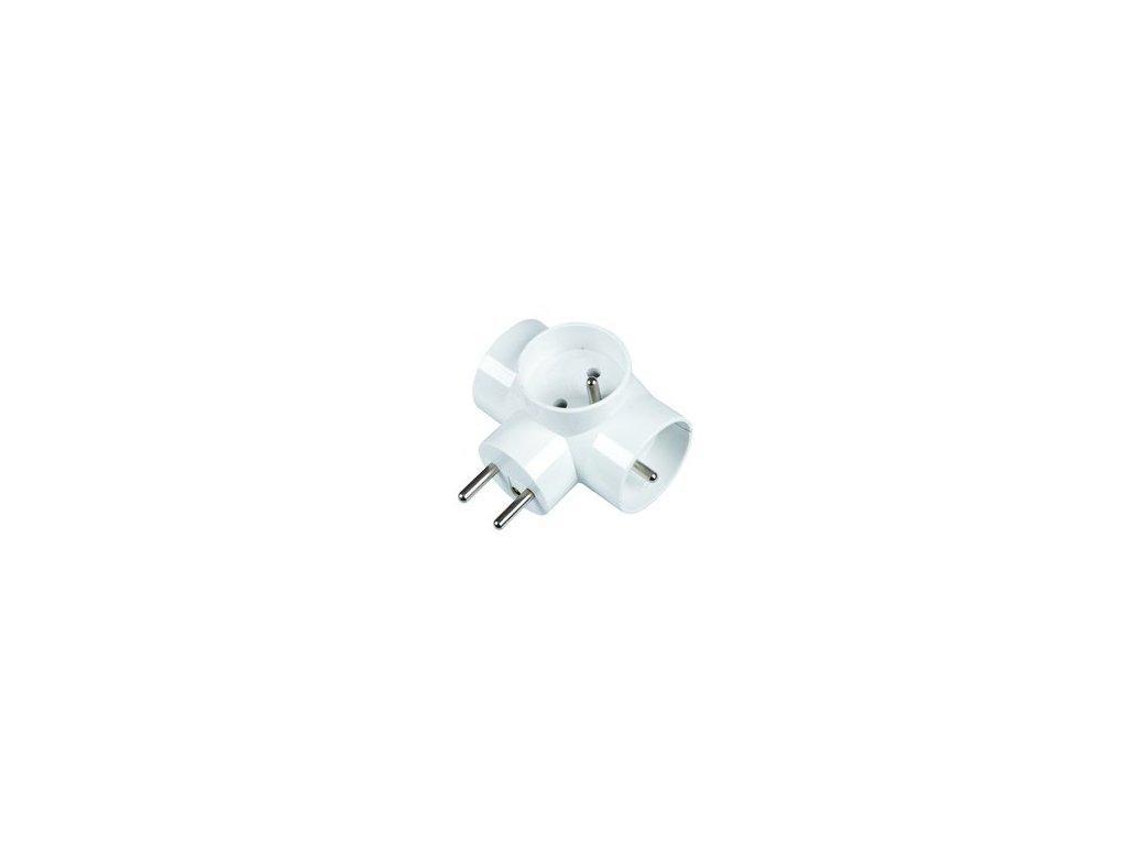 SENCOR SPC 63 rozbočka 3x 16A/250V biela
