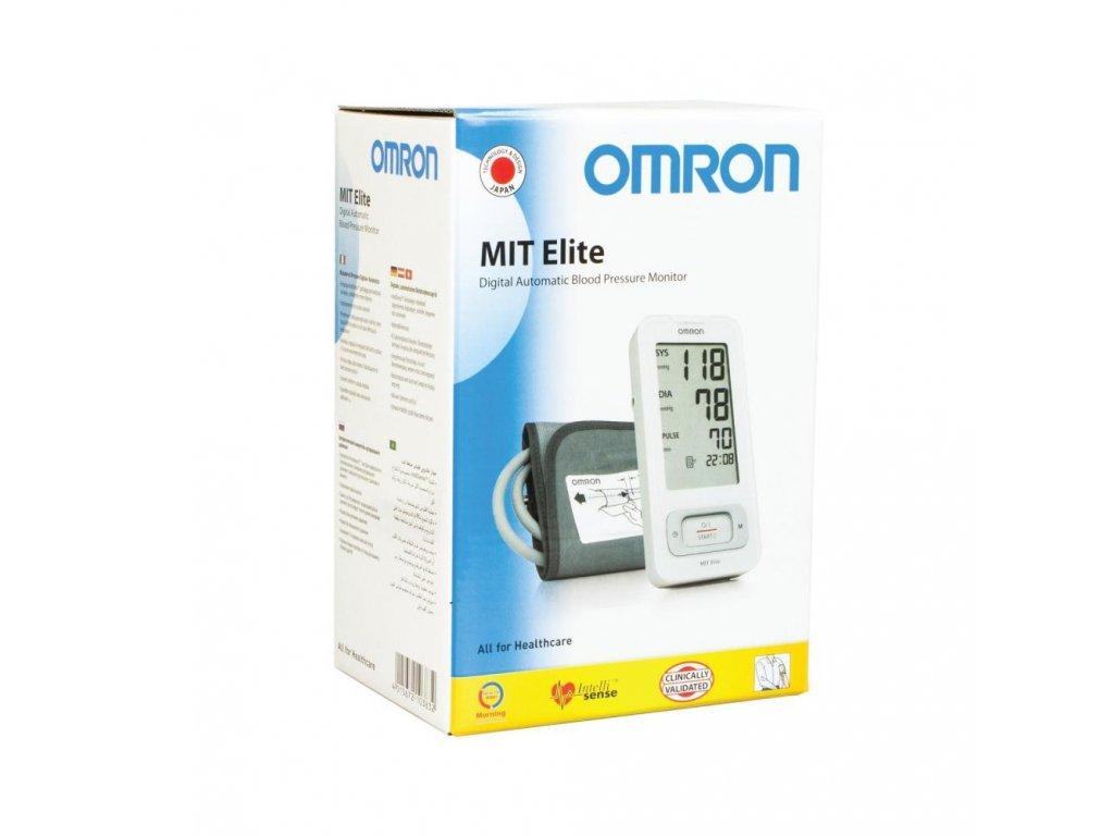 OMRON MIT ELITE HEM-7300-WE, Ramenný tlakomer s IHB