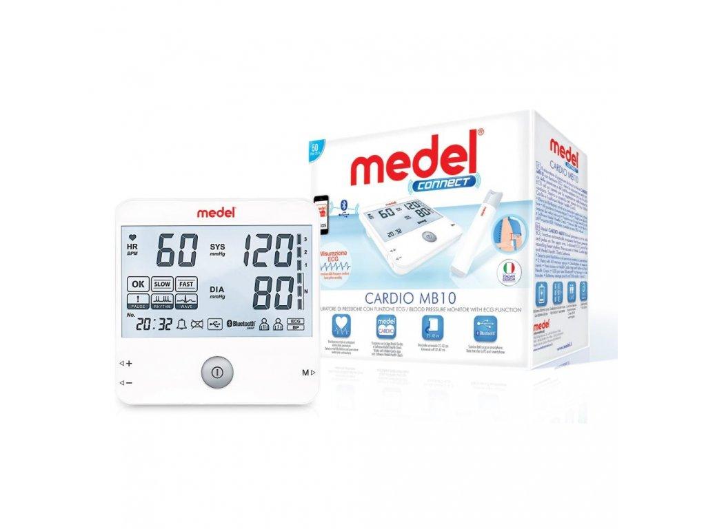 MEDEL CARDIO MB 10 Ramenný tlakomer s Bluetooth a EKG