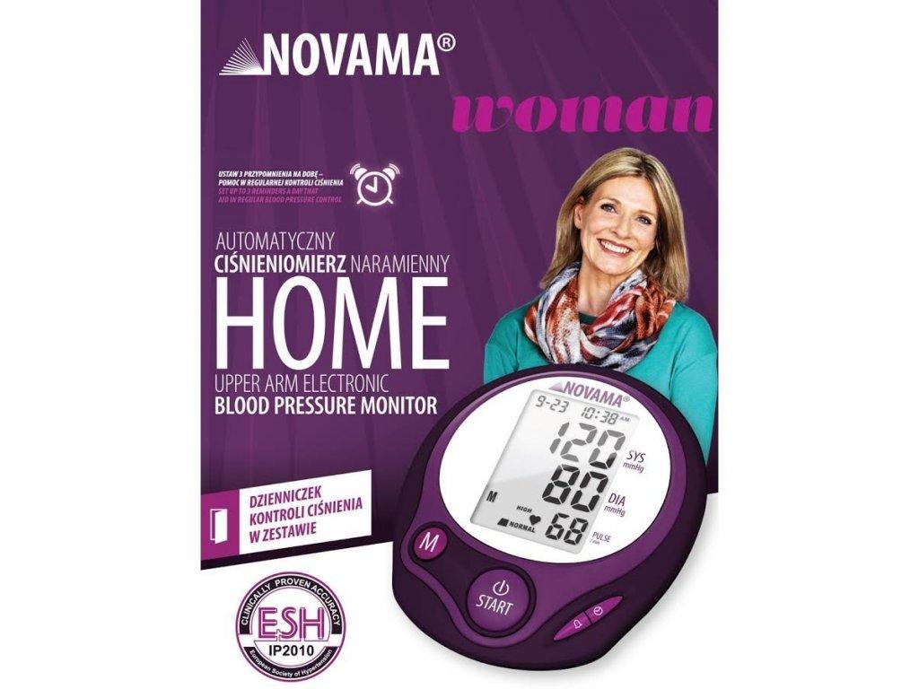 NOVAMA HOME WOMAN Ramenný tlakomer pre ženy s ESH a IHB