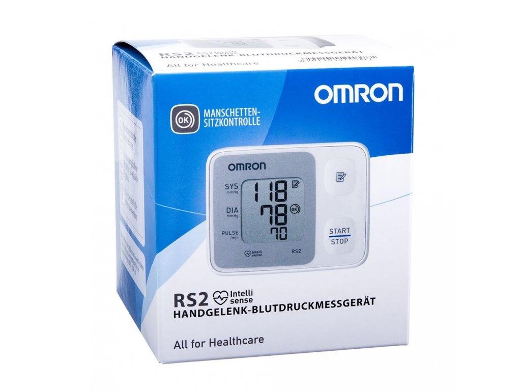 OMRON RS2 HEM-6121-E, Zápästný tlakomer s IHB