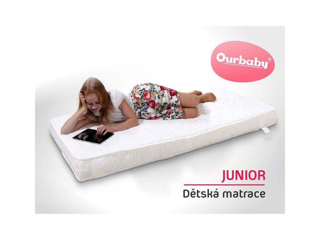Ourbaby Matrac JUNiOR 80x180 cm