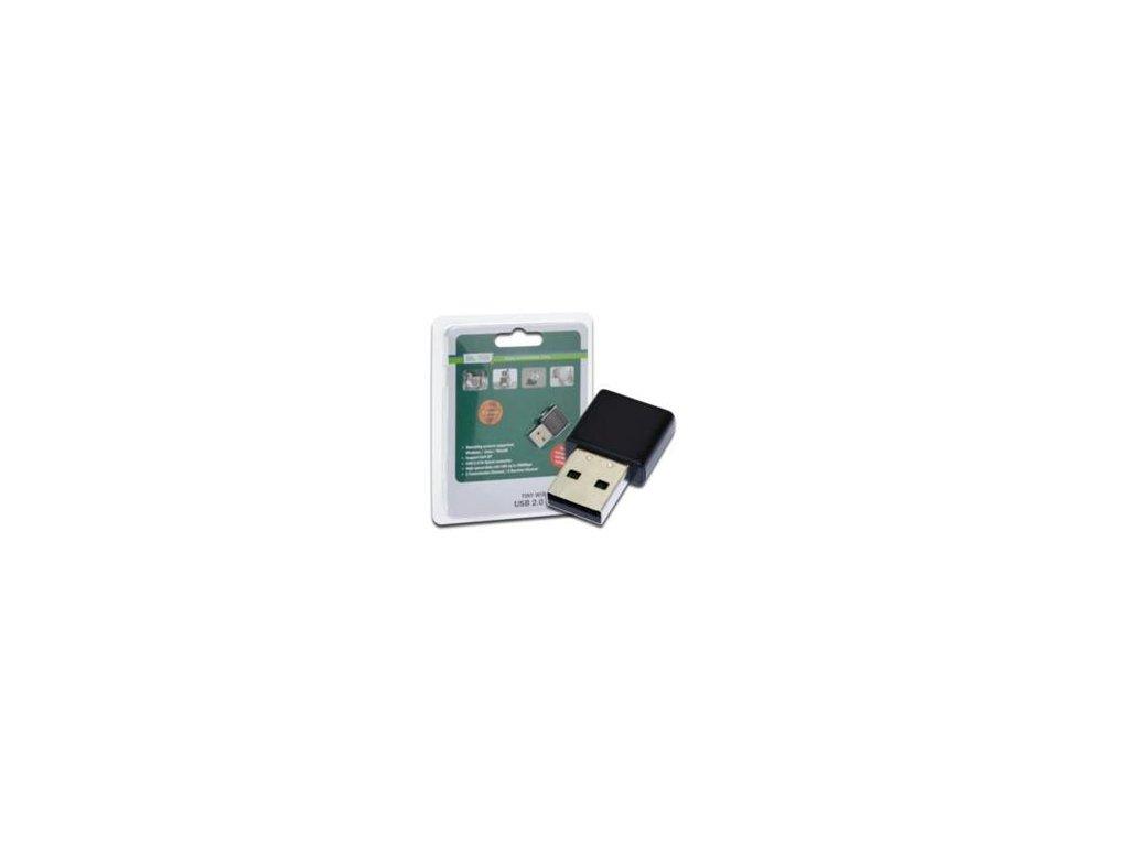 DIGITUS Mini 3000N USB 2.0 adaptér s WPS