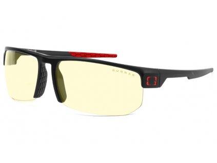 GUNNAR herní brýle TORPEDO 360 ONYX / černé obroučky/ jantarová + sluneční skla