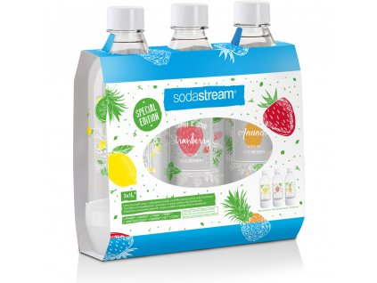 SODASTREAM Fľaša TriPack 1l le fruits