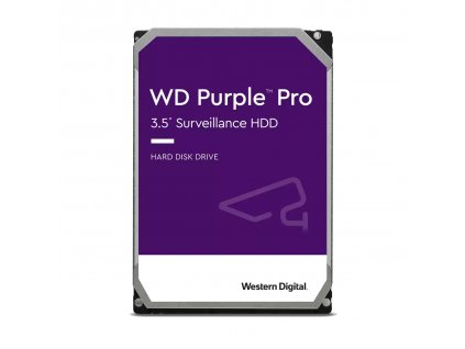 """WESTERN DIGITAL PURPLE PRO 8TB / WD8001PURP / SATA 6Gb/s / 3,5""""/ 7200 rpm / 256MB"""