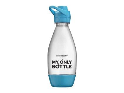 SODASTREAM Fľaša 0,6l MY ONLY BOTTLE TYRKYSOVÁ