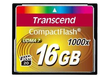 Transcend 16GB CF (1000X)