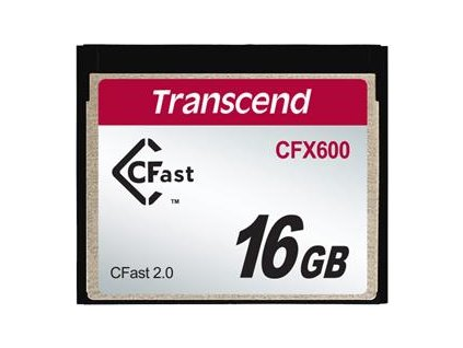 Transcend 16GB CFast 2.0 CFX600