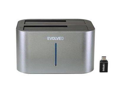 EVOLVEO Dion 2 dokovacia stanica + redukcia USB A/USB C