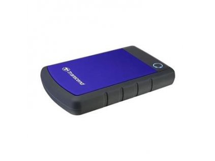 "TRANSCEND StoreJet 25H3B, 4TB, 2.5"", USB 3.0 čierno/modrý"