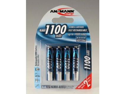 Ansmann AAA NiMH 1100 mAh (4 ks)