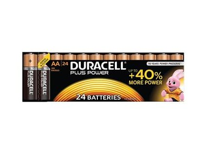 Duracell MN1500B24 Plus Power AA - 24 Pack