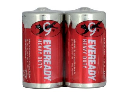 ENERGIZER R20 2S D Red Zn EVEREADY