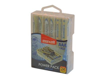 MAXELL LR03 24BP AAA Power Alk