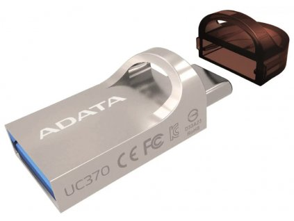 ADATA Flash disk UC370 64GB 2v1 - USB 3.1 a USB Type-C OTG zlatá