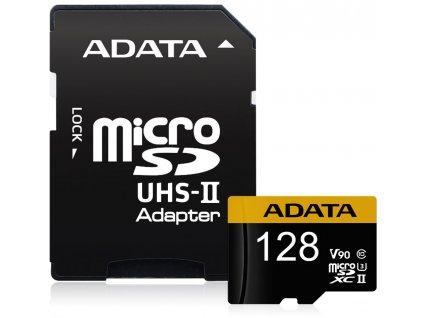 ADATA Premier One 128GB microSDXC UHS-II U3 CL10 + adaptér
