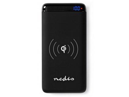 NEDIS PowerBank s bezdrátovou nabíjačkou 10 000 mAh