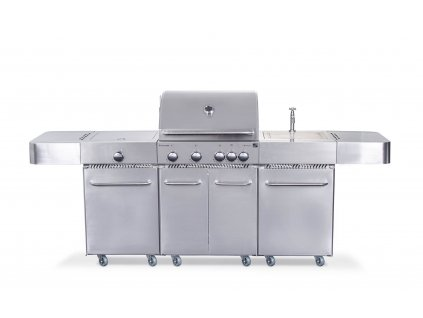 G21 Plynový gril Arizona, BBQ kuchyňa Premium Line 6 horákov  + redukčný ventil zadarmo
