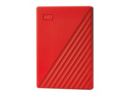 "WD My Passport portable 2TB 2.5"" USB3.0 Red"
