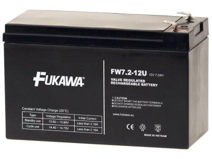 FUKAWA FW 7,2-12 F1U 12V/ 7,2 Ah do UPS APC/ AEG/ EATON/ Powerware