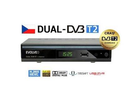 EVOLVEO Gamma T2, Dual HD DVB-T2 H.265/HEVC