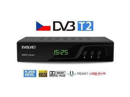 EVOLVEO Omega T2, HD DVB-T2 H.265/HEVC